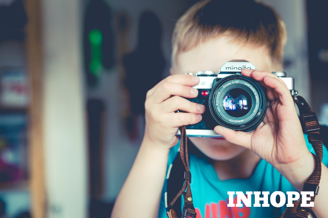 Don't let photos of your children end up in the hands of predators