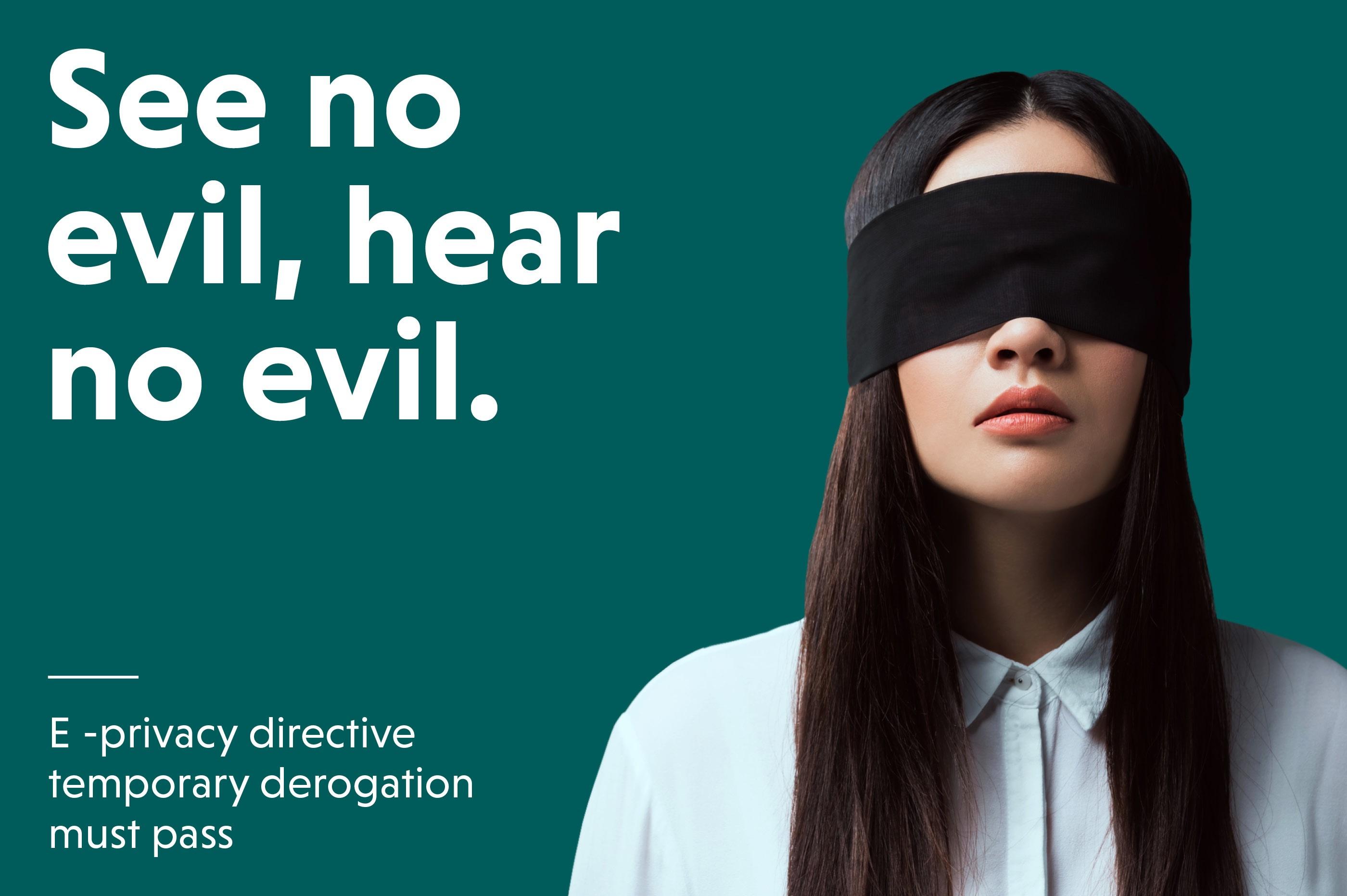 E -privacy directive temporary derogation