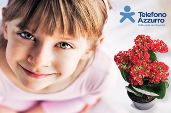 """Flowers for Telefono Azzurro (""""Fiori d'Azzurro"""")"""