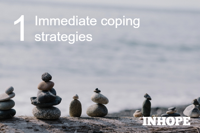 Immediate Coping Strategies for Digital First Responders