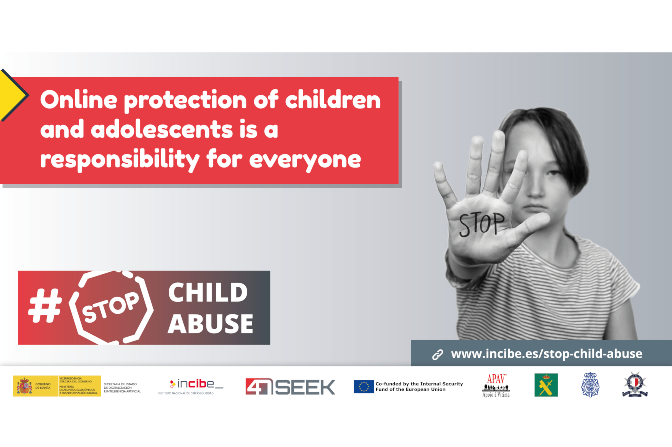 INCIBE Launch #StopChildAbuse Campaign