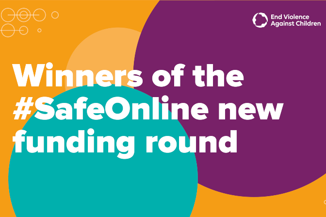INHOPE is a winner of End Violence Against Children's new #SafeOnline funding round