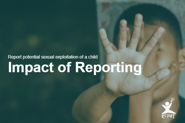 Perpetrator arrested: Impact of Reporting